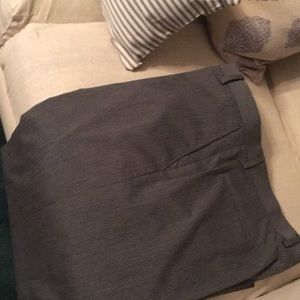 Beautiful gray subtle pinstriped trousers New